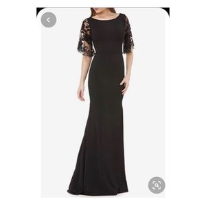 Carmen Marc Valvo Gown Dress